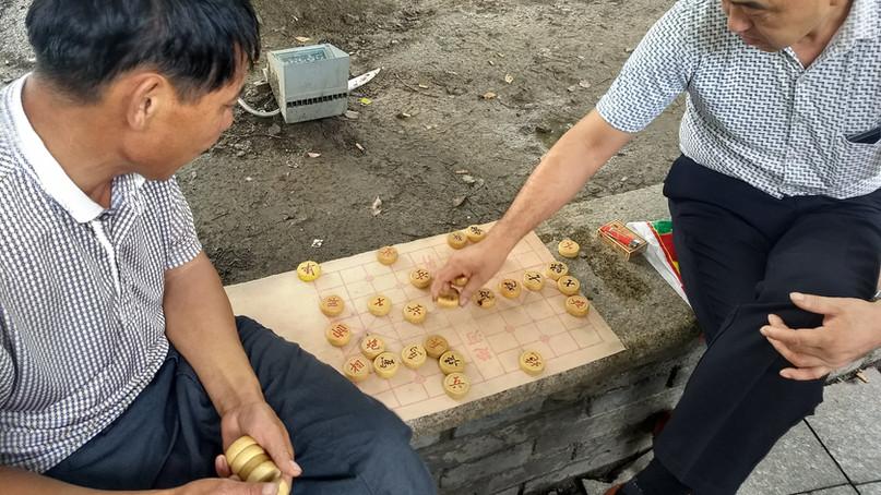 Traditional chinese board game of Xiangqi - Suzhou, China
