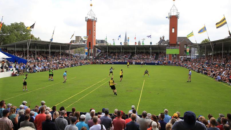 Traditional frisian handball : Kaatsen - Franeker, Netherlands