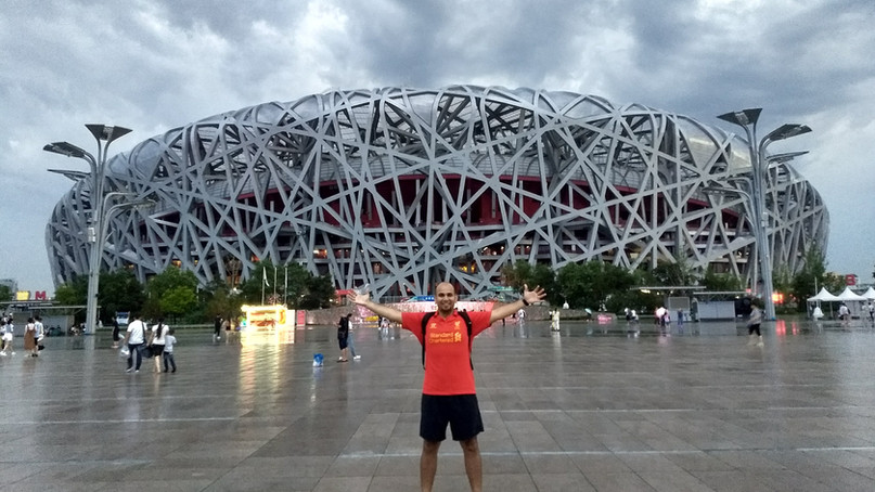 Our visit to the Bird's nest - Beijing