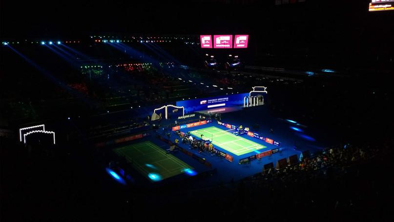 Cheer PV Sindhu at BWF world championships - Nanjing, China