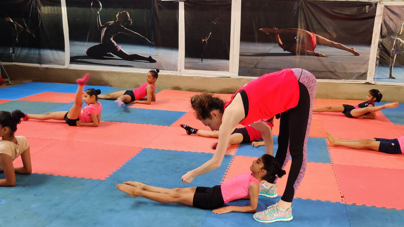 Russian Gymnastics Coaching in Pune, India