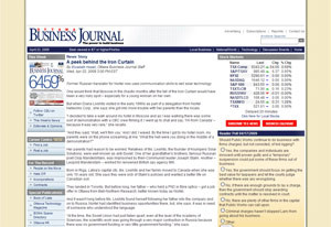 Nortel employee starts successful business