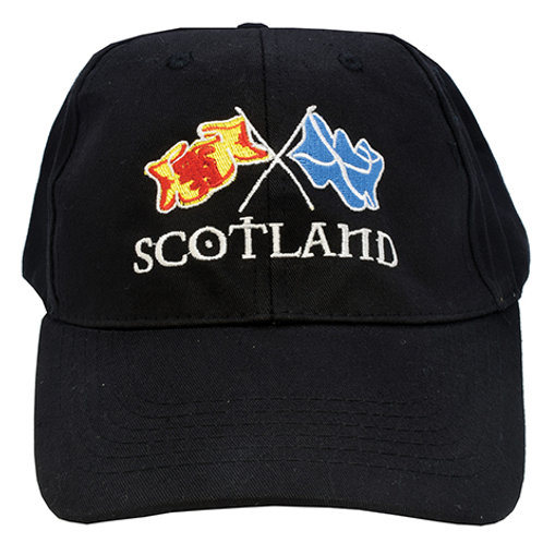 H29 - Scotland Crossflags Baseball Cap