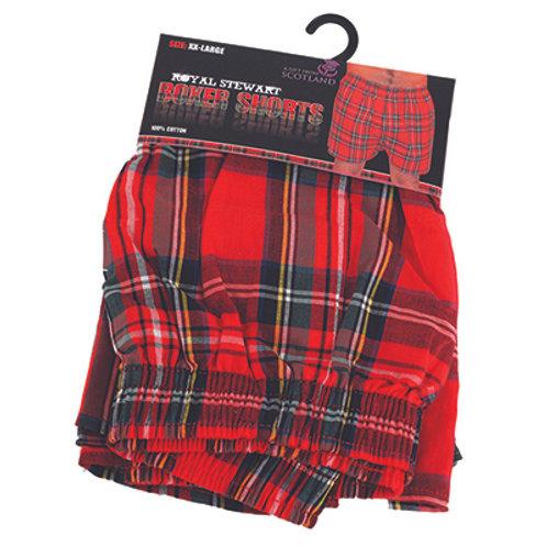 Royal Stewart Boxers Shorts