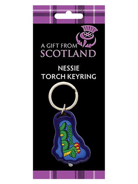 P6N - Scotland Nessie Torch Keyring
