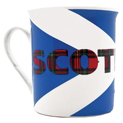 M4S - Saltire 'Scotland' Porecelain Mug