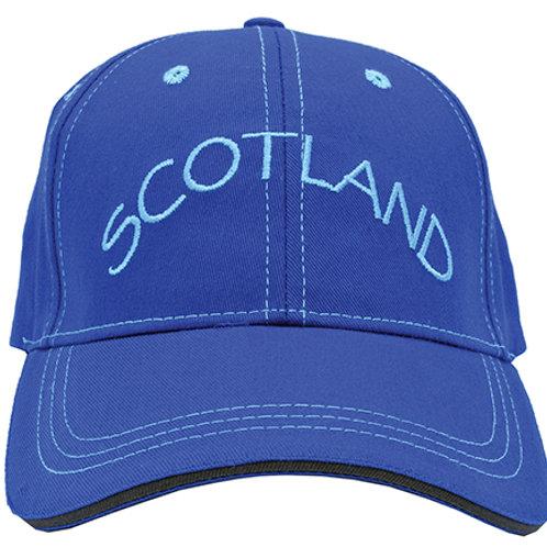 H10 - Embroidered 'Scotland' Baseball Cap