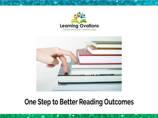 One Step to Better Reading Outcomes
