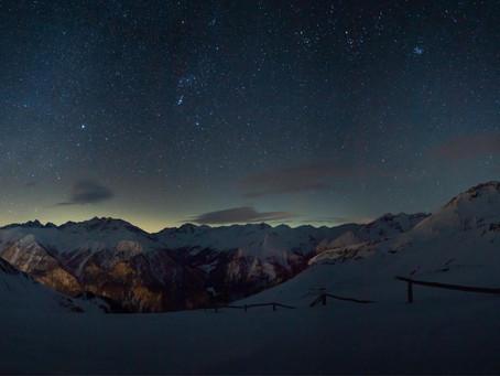 Sternenhimmel Panorama – die Entstehungsgeschichte