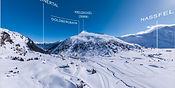 Sphärisches Luftbild-Panorama   Gasteinertal   Winter in Spotgastein