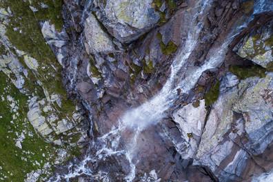 Kalenderkunst Reiter - Wasserfall