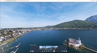 Virtueller Rundflug über den Traunsee   Gmunden   Altmünster   Traunkirchen