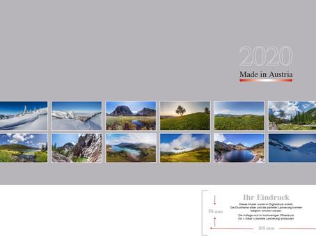 """""""Made in Austria 2020"""" – der Österreich Kalender"""
