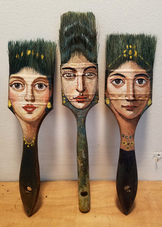 "Brush Portraits featured in ""On Art and Aesthetics"""