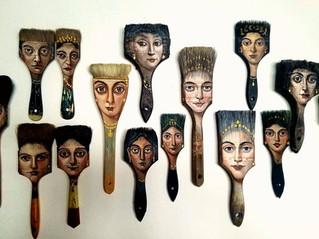 ONLINE SALE! Brush portraits 15% OFF