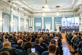 Делегаты Тюменской области работали на Съезде Общероссийского Конгресса муниципальных образований