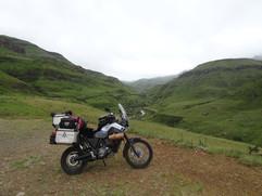 Bottom of the Sani Pass, SA