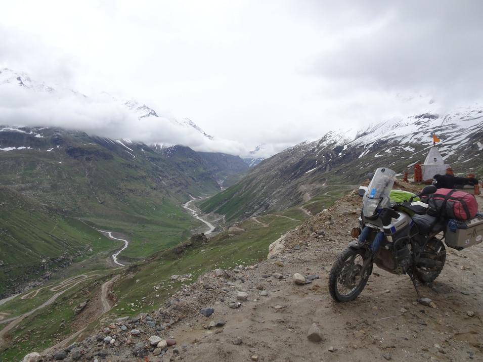 End of the 505 & road to Manali