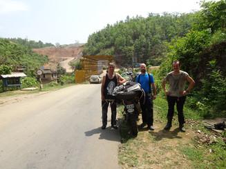 Spiros, me & Dariusz leaving Myanmar