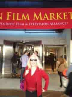 Kathy Krantz reps and buys fillms at the American Film Market