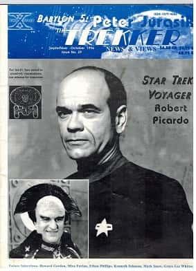 Trekker fanzine has interview with Robert Picardo