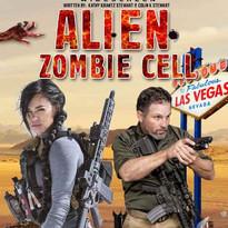 Alien Zombie Cell Poster, an idea to script project by Kathy Krantz