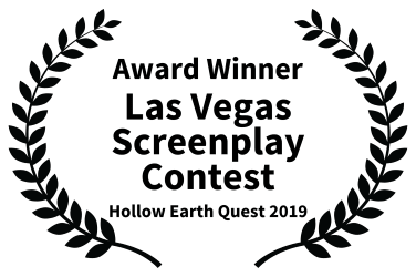 Another Award Winner for our Hollow Earth Quest script- Las Vegas Screenplay Contest