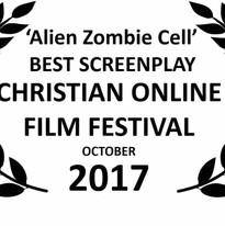 Christian Film Festival Best Screenplay winner