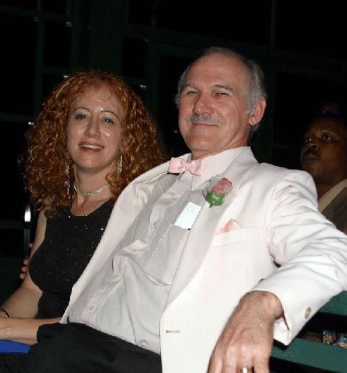 Kathy Krantz & Colin Stewart waiting to win another screenplay award