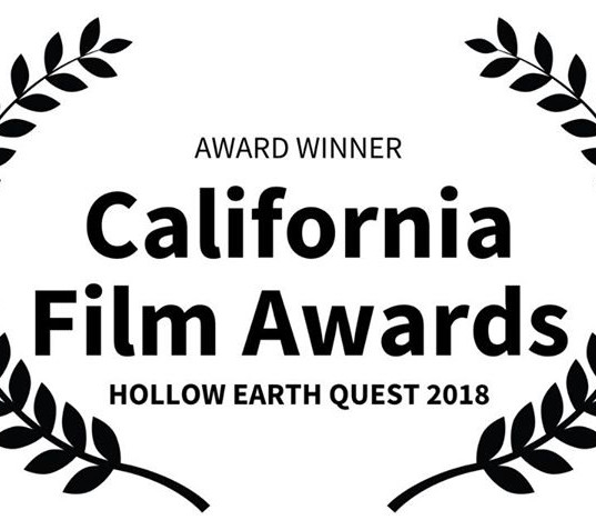 Hollow Earth Quest book to script wins another award
