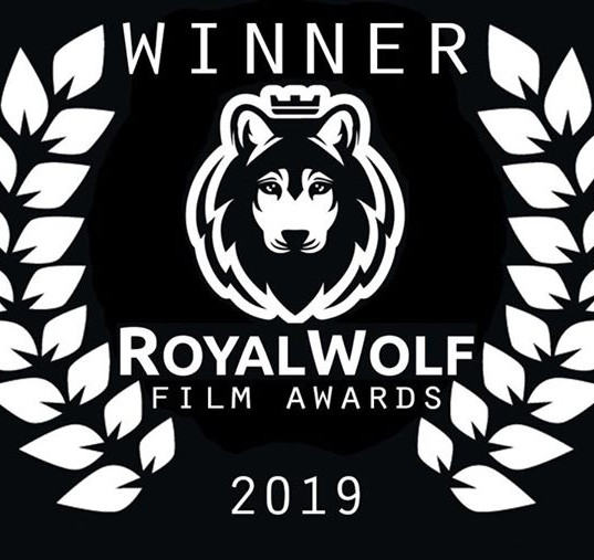 Beautiful Royal Wolf Film Awards logo