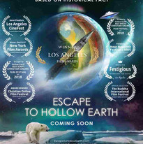 Escape To Hollow Earth Poster, our script wins at least 10 festival awards