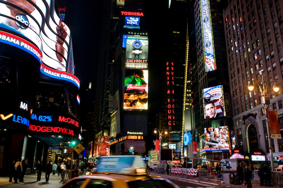 Times Square, 2.26 am