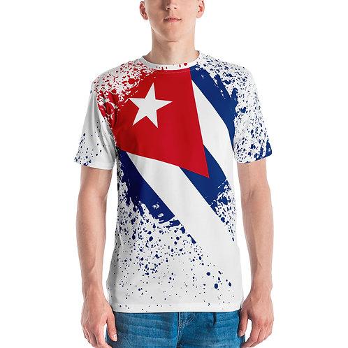 T-shirt hombre con la bandera