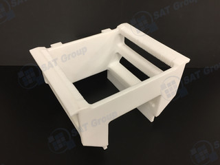 Wafer carrier from mechanical lavoration