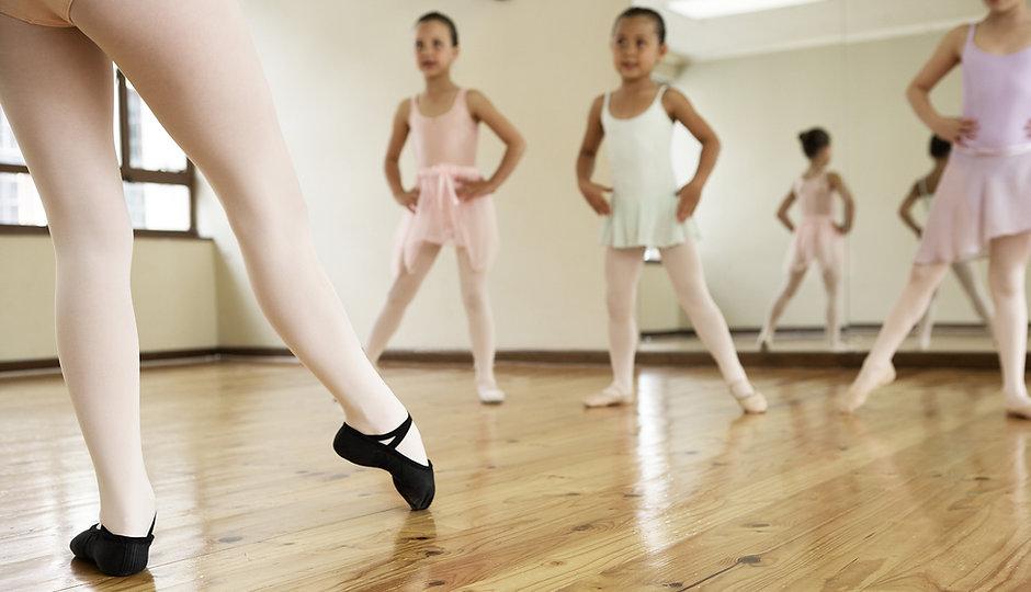 aulas de ballet infantil
