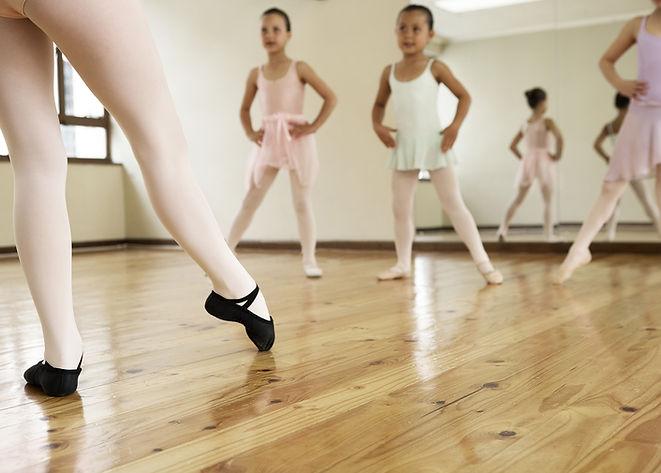 Junge Ballett-Klasse