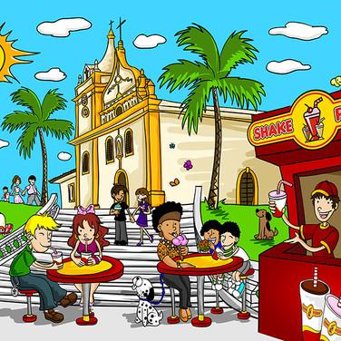 Ilustração_Shake_Point__-_Praça_Matriz_C