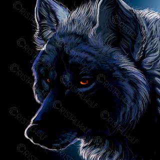 Blue Dark Wolf by Cristalwolf m.jpg