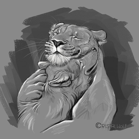 Mother's Hug by Cristalwolf.jpg