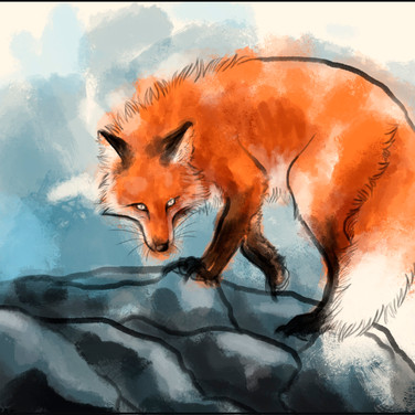 Red fox watercolor by Cristalwolf.jpg