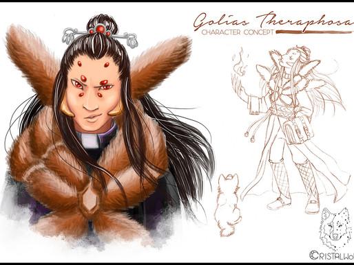 Golias Theraphosa's art concept