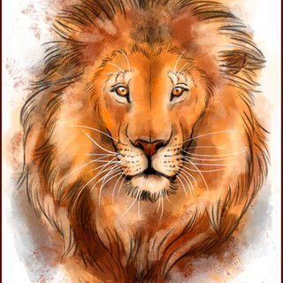 Lion Watercolor by Cristalwolf.jpg