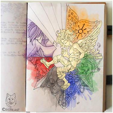 Octarina - Grimorio - by Cristalwolf - w