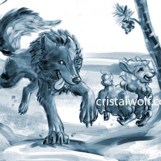 Running-In-The-Snow--Artbook-Lua-de-Lã.j