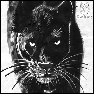 Black Panther - Grimorio - by Cristalwol
