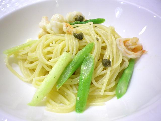オリーブソーススパゲッティ