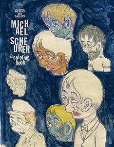 Michael Scheurer Coloring Book