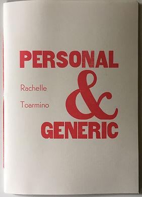 Personal Generic Rachelle Toarmino PressBoardPress