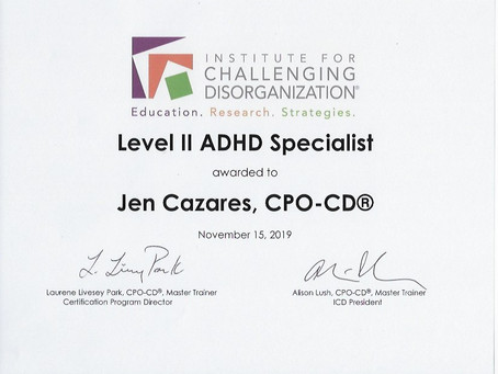 Look Who's an #ADHD Specialist®!